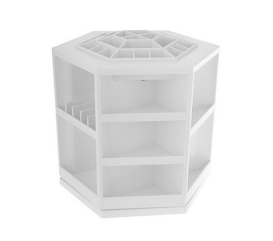 Rotating makeup organizer ikea